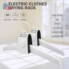 The Electric Clothes Drying Rack puts the power of a conventional dryer in the palm of your hand. It is much more than a clothes hanger. Shop Electric clothes drying rack only on Exalt club. Clothes Drying Racks, Clothes Dryer, Clothes Hanger, Clean Bathtub, Diy Crystals, Shampoo Bar, Bag Storage, Storage Ideas, Clean House
