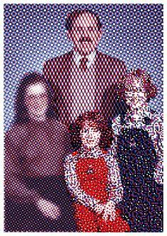 The Screen Family (Linus, Dot, Pixie & Random Screen) by Helmo