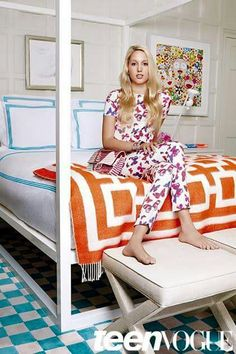 Princess Maria Olympia of Greece, in a photoshoot for Teen Vogue