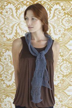 Free Knitting Pattern - Scarves: Dusty Night Scarf
