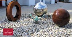 Cortenstahl Gartenbrunnen-Referenzen Diy Garden Fountains, Water Features, Outdoor Living, Design, Photos, Water Images, Wall Fountains, Fountain Garden, Corten Steel
