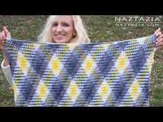 Crochet Planned Pooling Super Scarf and Afghan Blanket by Donna Wolfe from Naztazia