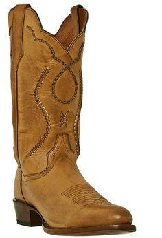 Dan Post  Mens 13 In. Albany Palamino Saddle Leather Boot: DP26690
