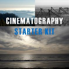 Film Education | Cinematography Starter Kit and Advanced Kit | Hurlbut Visuals an option possible in the future
