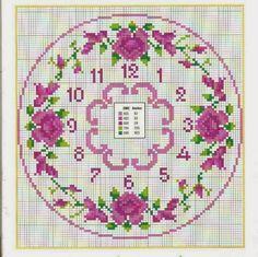 orologio+a+punto+croce+sul+rosa.jpg (720×717)