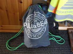 Turnbeutel - Hacking / Hack my gym bag / Upcycling