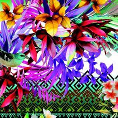 floral tropical....