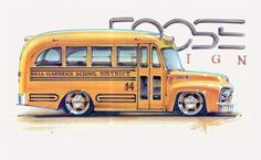 ☆ Illustration by Chip Foose ☆