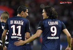 Di maria and cavani bromance Psg, Football Soccer, Football Players, Manchester United, Bordeaux, Espn Deportes, All Star, Los Astros, Mauritius
