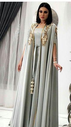 Moroccan Takshitas jilbab jalabiya kaftan wedding moroccan kaftan wedding dress Muslim Evening Dress by TheKaftanStore on Etsy Source by thekaftanstore Arab Fashion, Muslim Fashion, Modest Fashion, Indian Fashion, Morocco Fashion, Punk Fashion, Lolita Fashion, High Fashion, Mode Outfits