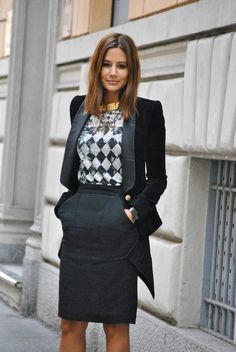 ¡Inspírate! Office outfit.