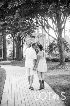 Engagement Photography #Engagement #Photography #WRAL Azalea Gardens #Raleigh #NC