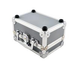 Free Shipping Dentist Dental Binocular Loupes Optical Glass Loupe Led Head Light Lamp Aluminum Tool Box Case Container
