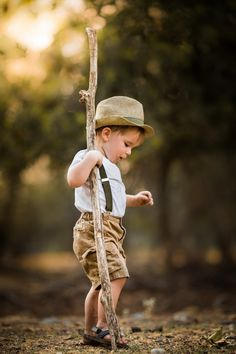Cute Child ~ Photograph The Staff by Adrian Murray on 500px