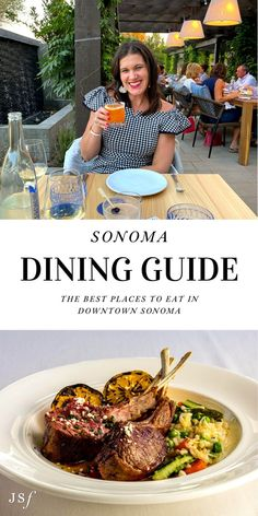 Splitting my time between Wine Country (Sonoma & Napa) and San Francisco, I am no stranger to downtown Sonoma. If you've never been, you are in for a treat. Downtown Sonoma has some of the best dining in California. With so many fantastic options to choose from, I am going to be sharing my top Sonoma Dining recommendations of where you should grab a bite! Sonoma Restaurants, California Restaurants, California Destinations, California Travel, West Coast Foods, Sonoma California, Best Italian Recipes, American Restaurant, New Menu
