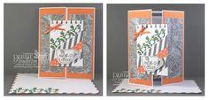 Stampin' Up! Paper Pumpkin July 2015 projects. Debbie Henderson, Debbie's Designs.