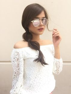 Media Tweets by Maris Racal (@MARSTELLARACAL) | Twitter Celebs, Celebrities, Asian Beauty, Round Sunglasses, Design Inspiration, Lace, Ph, Target, Pictures
