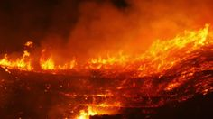 ventura fires today | A Bushfire Burning Orange And Red At Night, 4k Stock Footage Video 7881247 - Shutterstock