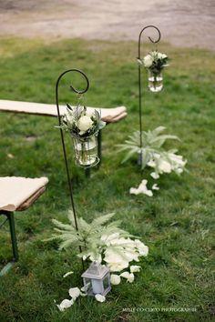 Détours Nature fleuriste créateur d'ambiance, allée de cérémonie, mariage
