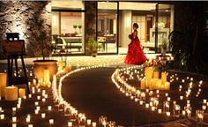 outdoor wedding decorations for night time - Bing Images