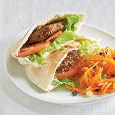 Moroccan Pita Sandwiches with Falafel.