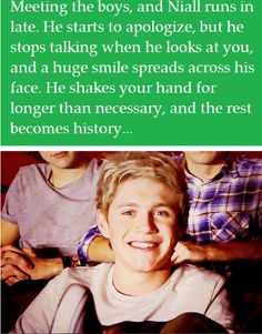 Niall Horan imagine He says to our children ...