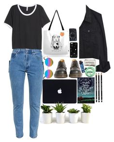 """""""who is in control?"""" by starscounter394 on Polyvore featuring moda, Dr. Martens, Vetements, H&M, PINTRILL, Matthew Williamson y Urbanears"""