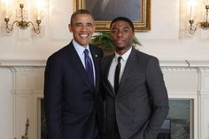 """Barack Obama on Instagram: """"Chadwick came to the White House to work with kids when he was playing Jackie Robinson. You could tell right away that he was blessed. To…"""" Celebrity Gossip, Celebrity News, Jackie Robinson, Donatella Versace, Former President, Black Panther, Barack Obama, Presidents"""