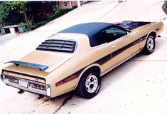 1973 Dodge Charger Super Bee (Clone) based on '71 charger super bee. '68 to '70 super bees were dodge coronets.