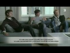 The success story of A-ha,  part 1, Magne, Morten and Pal speaks,  German subtitles