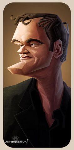 Quentin Tarantino por Jose Rodríguez Mota