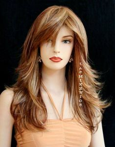 Y Long Layered Hair With Bangs Cool Hairstyles   GlobezHair