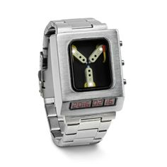 Back to the Future Flux Capacitor Wristwatch….for the nerd in us all! Back to the Future Flux Capacitor Wristwatch….for the nerd in us all! Doc Brown, Take My Money, Telling Time, Back To The Future, Geek Gifts, Cool Items, Cool Gadgets, Future Gadgets, Tech Gadgets