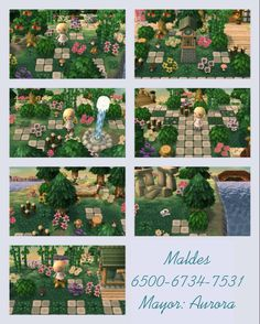My village of Animal crossing new leaf. I love it!^^