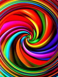 Bold colors, all the colors, happy colors, rainbow connection, psychedelic Happy Colors, All The Colors, Vibrant Colors, Taste The Rainbow, Over The Rainbow, Rainbow Swirl, World Of Color, Color Of Life, Rainbow Connection