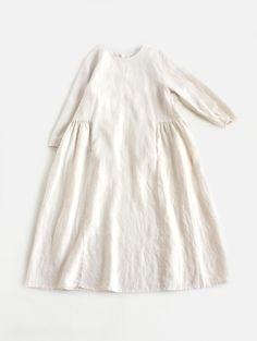 Pretty linen dress.