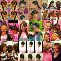 """ACCEPTING NEW CLIENTS I am a licensed hairstylist located in Arlington Tx. The Owner of """"Shaye's D'vine  Perfection """". I master a wide range of hair techniques such as;  Sew Ins Ghana Braids Havana Twist Fishtail Braid updo Goddess Braids Natural hair care Regular Quick Weaves Pronto Quick Weaves Pixie cuts and more….. Come Get """"Shayed & Slayed """". Contact my assistant to book 817-714-8362 (Like & Share)"""