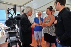 Jean-Yves le Poulain, Director Stijn Coninx, Cinematographer Fiona Braillon, Director François Bierry