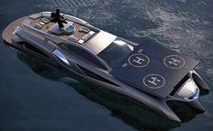 Amazing Yachts: Xhibitionist Yacht Concept by Gray Design
