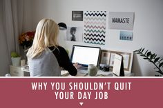 You probably shouldn't quit your day job / Kim Lawler Creative