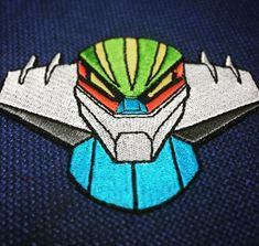 Jeeg Robot, El vengador The Avengers, Patches, Embroidery