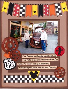 We Love Mater 2nd page - Scrapbook.com layout