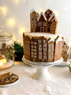 Gingerbread House Icing, Christmas Mood, Royal Icing, Panna Cotta, Cake, Ethnic Recipes, Desserts, Food, Mascarpone