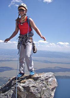 Grand teton national park, rock climbing