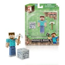 Minecraft - Figure with Accessories - Overworld Steve
