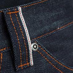 turbokolor: Details of 14oz raw denim selvedge pants. Premiere this Saturday…