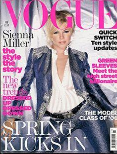 Vogue Magazine February 2006 UK Edition- Sienna Miller