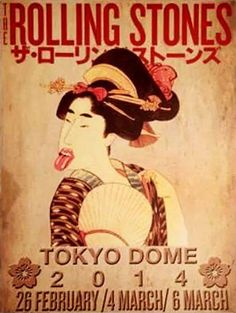 The Rolling Stone Tokyo | 14 On Fire - Gig Poster