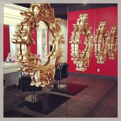 Gust-o Blow Dry Bar - Sponsor  BlogLove Beautiful reflections. #Minneapolis #Boston