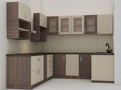 Lisse L Shaped Modular Kitchen #L ShapedModularKitchen #L ShapedKitchen  #L ShapedModularKitchendesign #ModularKitchendesign #Kitchendesign |  Pinterest | ...
